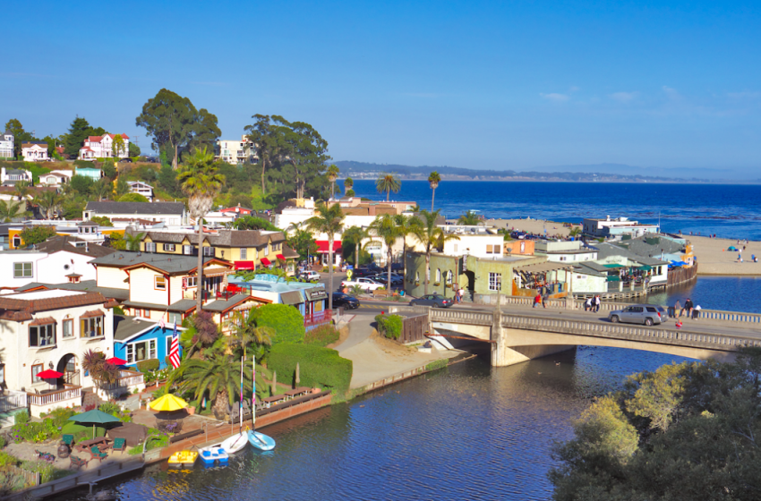 Capitola Village Visit in Santa Cruz